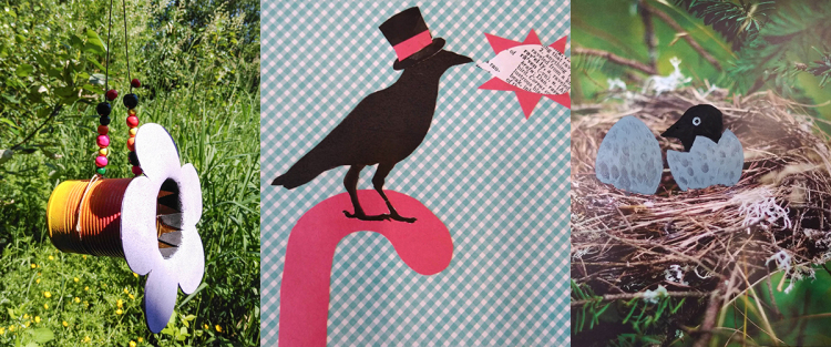CROWS: Caws & Effect Camp at Edmonds Center for the Arts - Week long camp