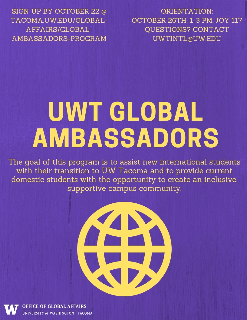 Global Ambassadors Orientation