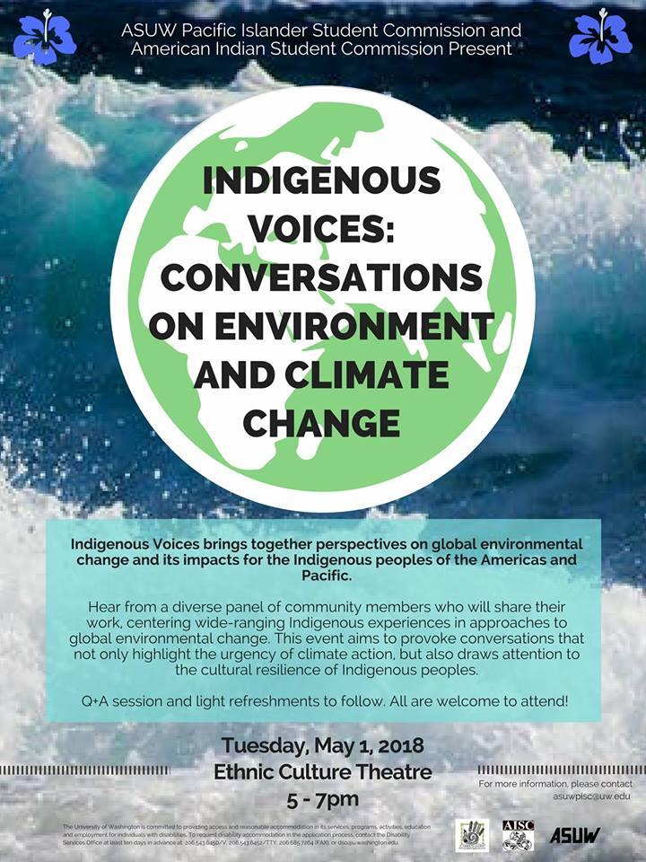 Indigenous Voices: Conversations on Environment & Climate Change