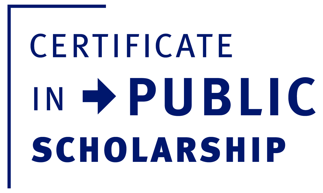 Certificate in Public Scholarship Information Session