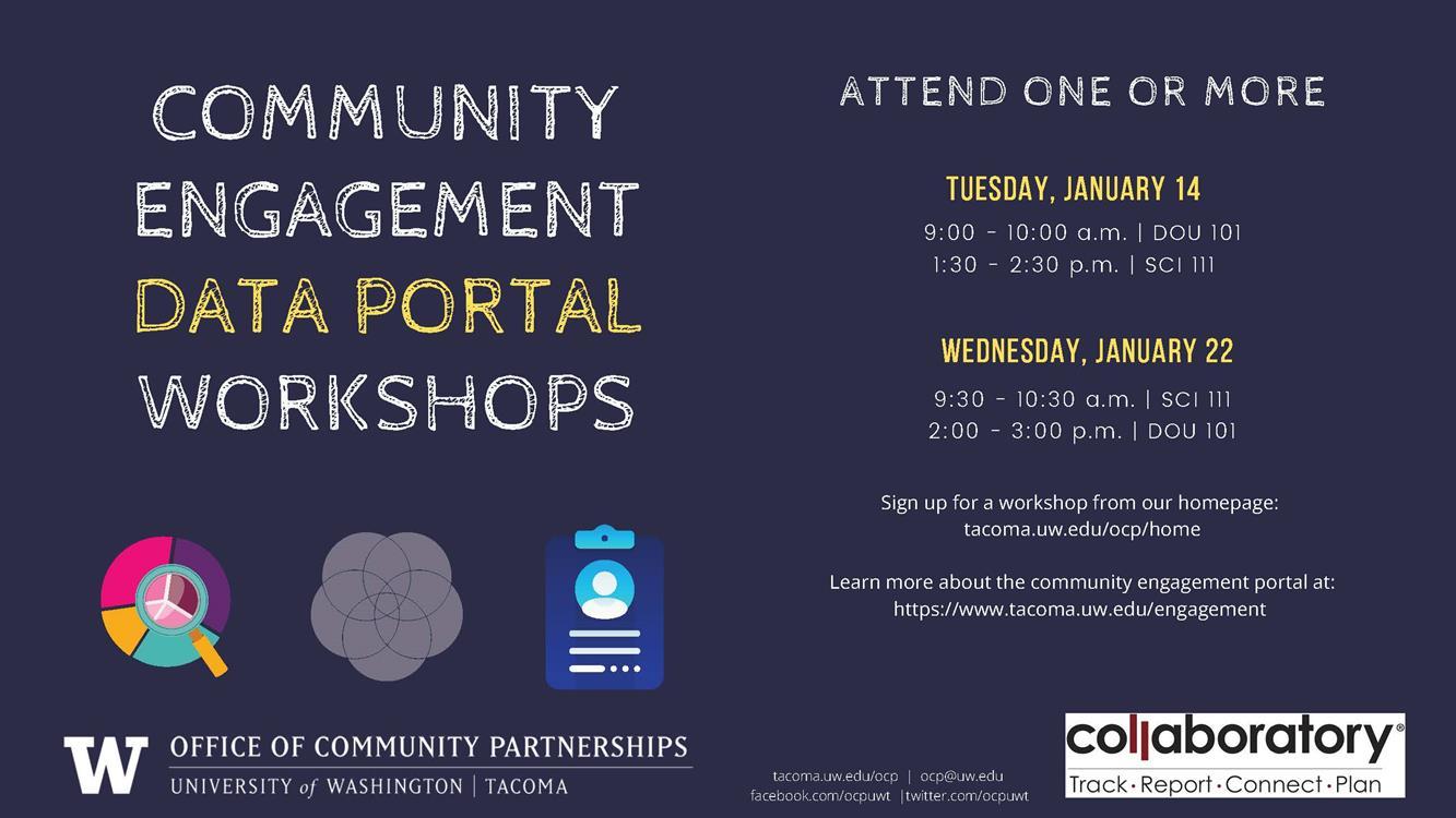 Community Engagement Data Portal Workshop
