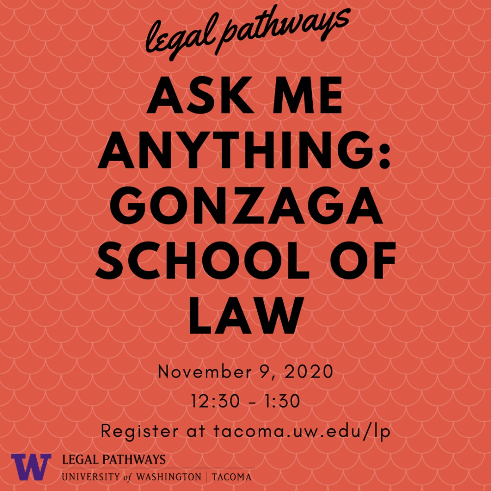 """Gonzaga School of Law -- """"Ask Me Anything"""" with the Director of Admissions!"""