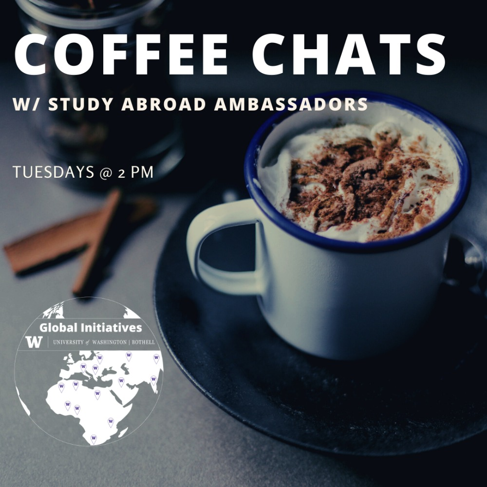 Coffee Chats with Study Abroad Ambassadors