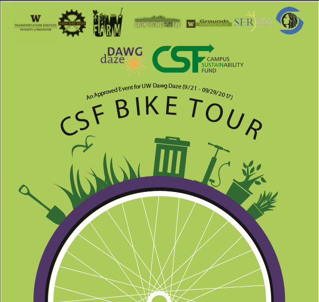 Campus Sustainability Fund Bike Tour