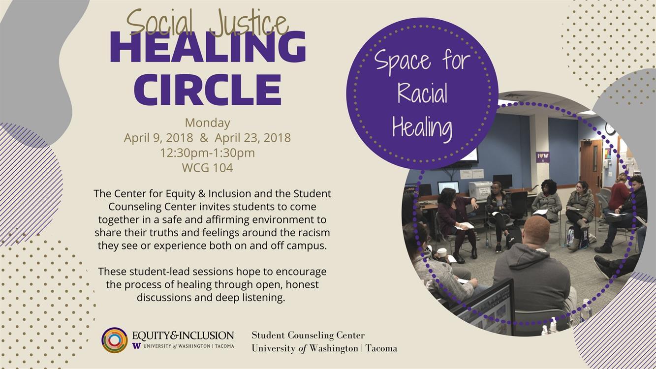 Social Justice Healing Circle