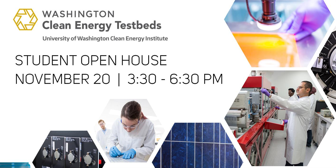 Washington Clean Energy Testbeds Student Open House