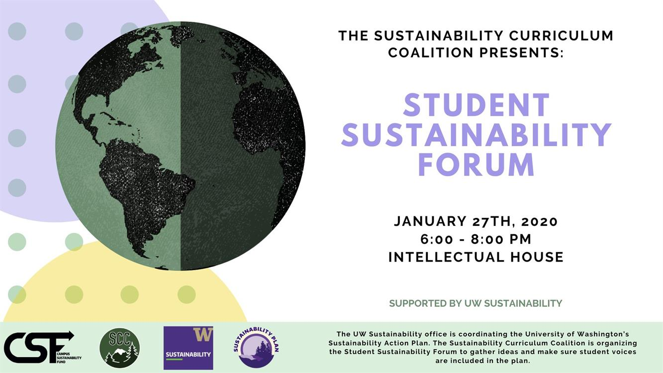 Student Sustainability Forum
