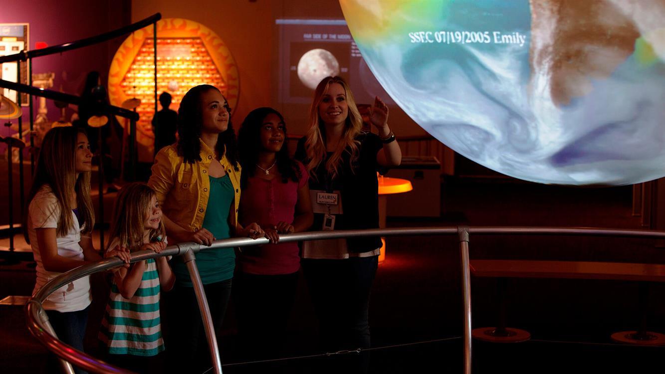 Pacific Science Center Tour