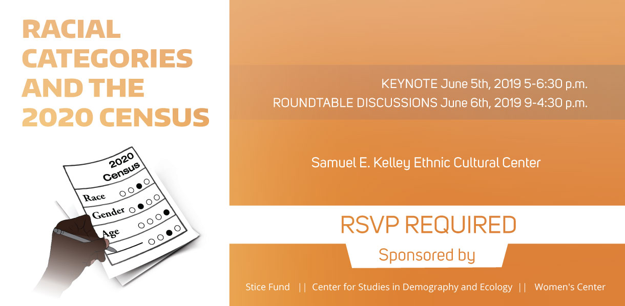 Racial Categories & 2020 Census Keynote