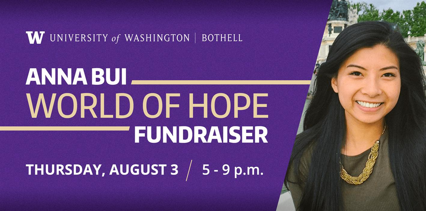 Anna Bui World of Hope Fundraiser