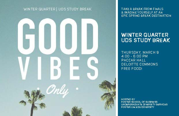 UDS Winter Qtr. Study Break