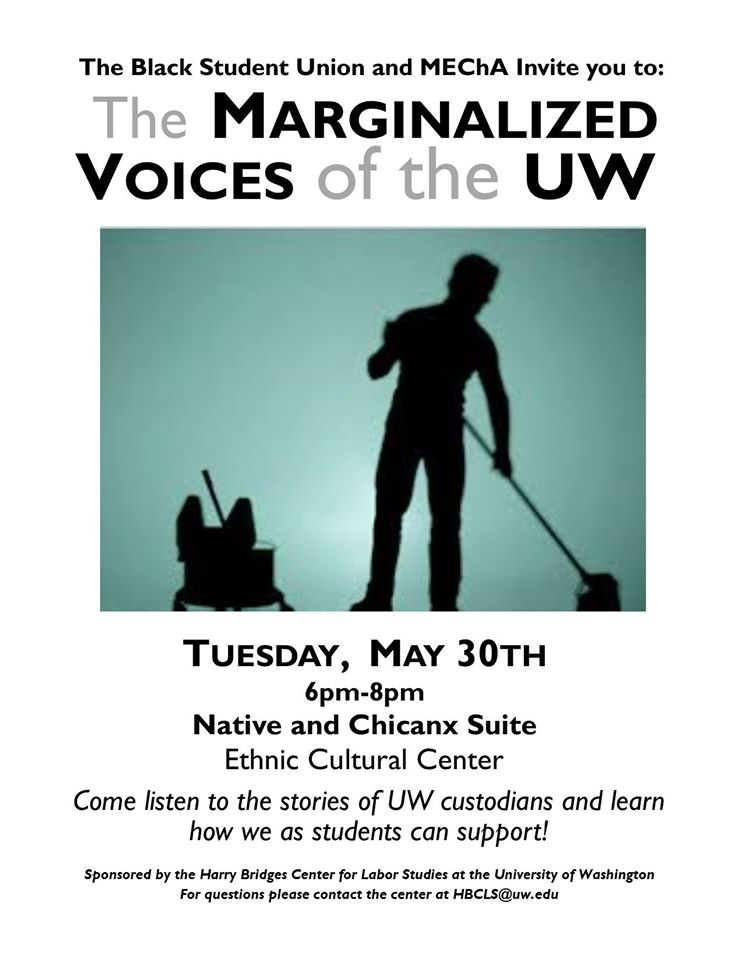 Panel: The Marginalized Voices of the UW