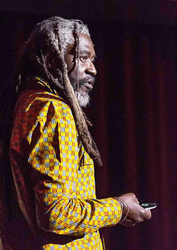 Saki Mafundikwa: Designer and filmmaker from Zimbabwe presents his work