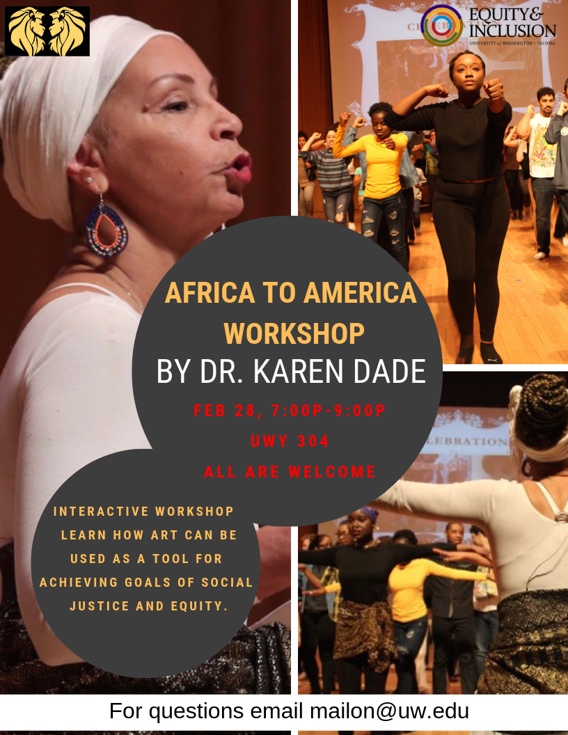 Africa to America Workshop with Dr. Karen Dade