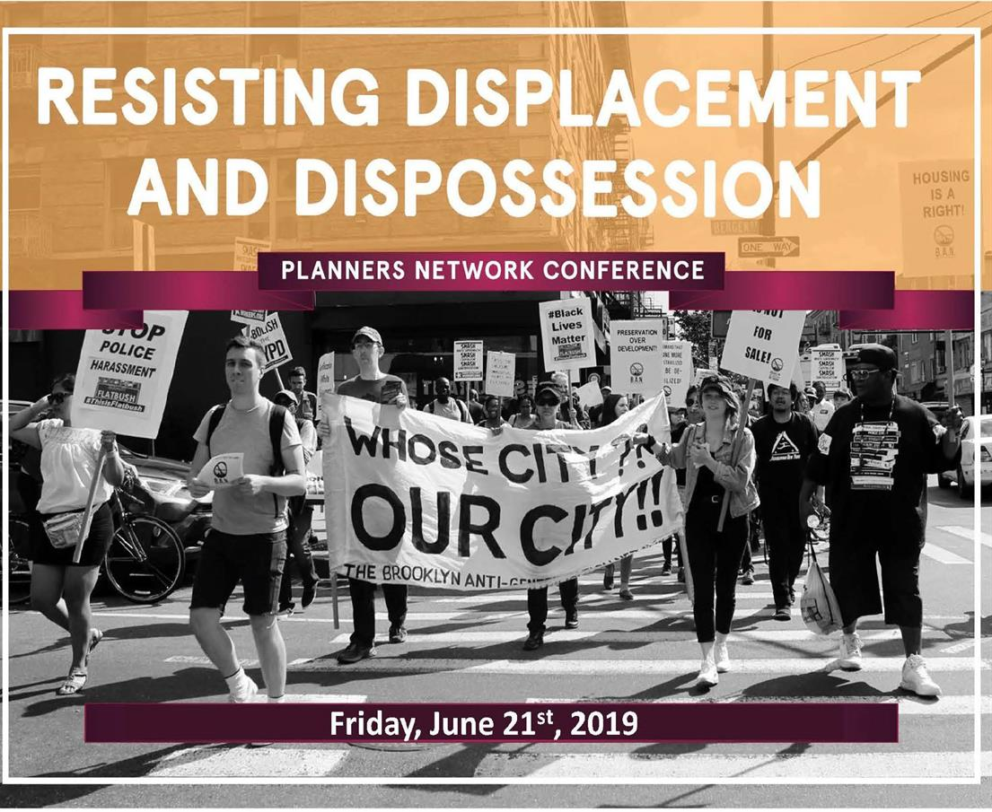 Resisting Displacement and Dispossession