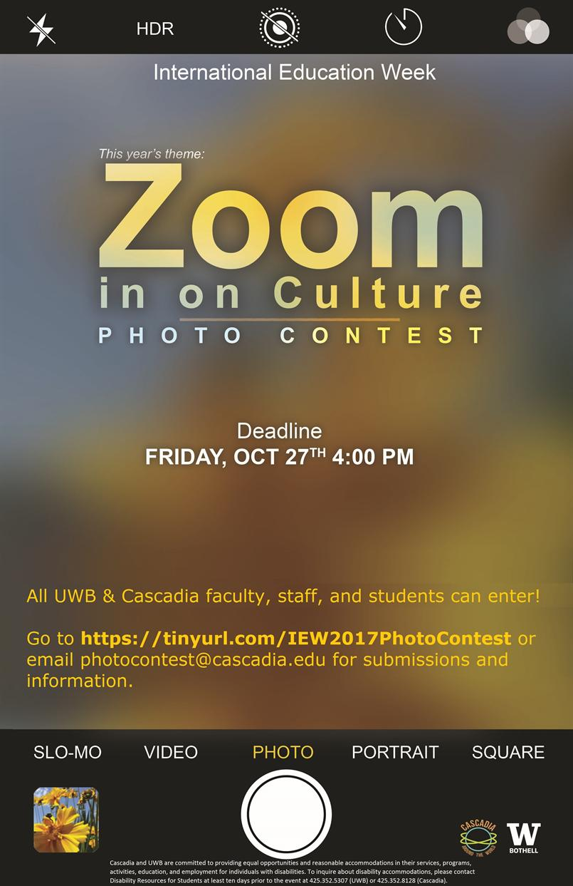Zoom in On Culture - Photo Contest