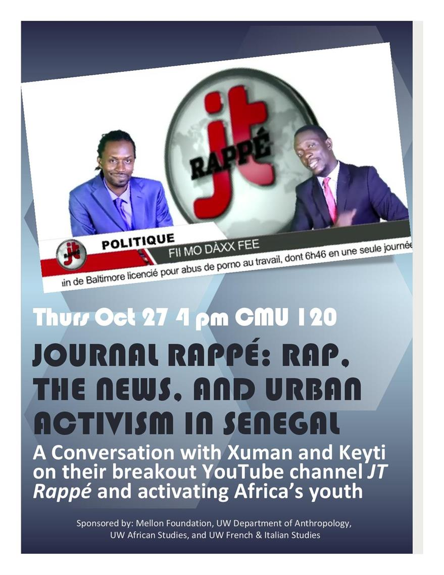Journal Rappé: Rap, the News, and Urban Activism in Senegal