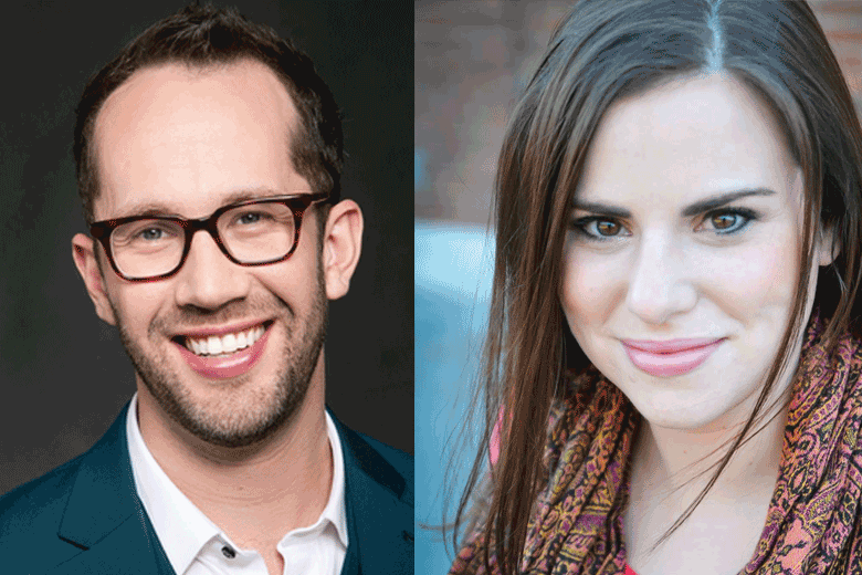 The Village Theatre's Brandon Ivie and Jessica Spencer - Mock Auditions in Musical Theater