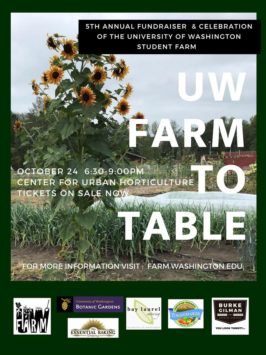 Farm To Table Dinner Celebration & Fundraiser