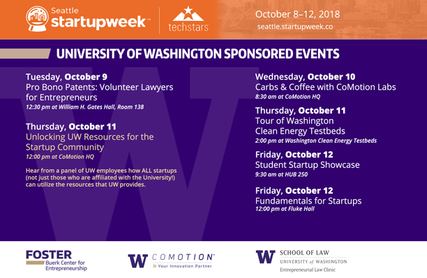 Seattle Startup Week: Unlocking UW Resources for the Startup Community