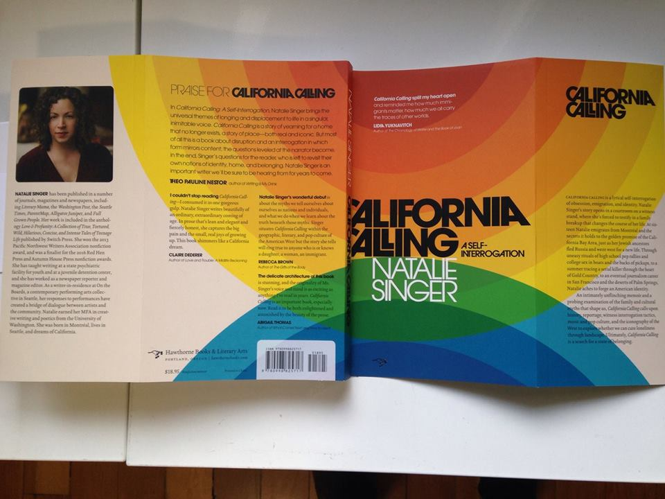 California Calling Book Launch with Natalie Singer