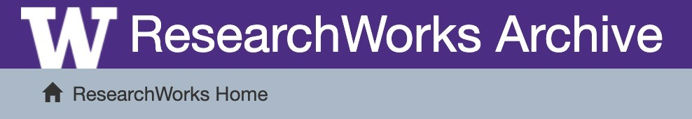 ResearchWorks: An Introduction to UW Libraries' Institutional Repository