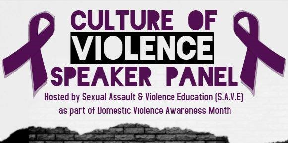Culture of Violence Speaker Panel