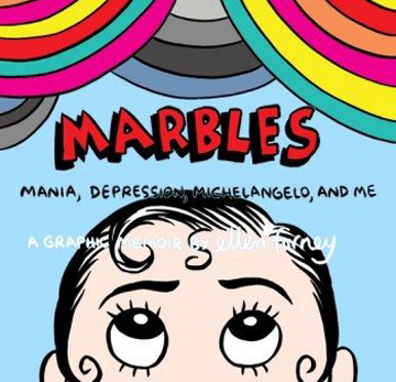 Ellen Forney speaks on Marbles: Mania Depression, Michelangelo and Me