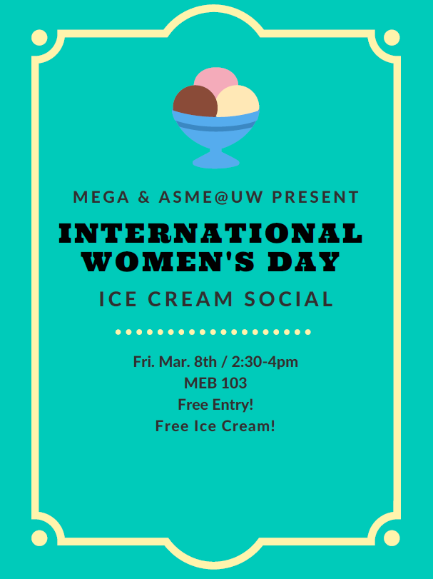 International Women's Day Ice Cream Social