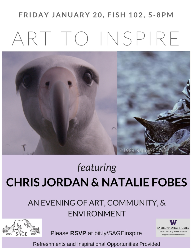 Art to Inspire: An Evening with Chris Jordan and Natalie Fobes
