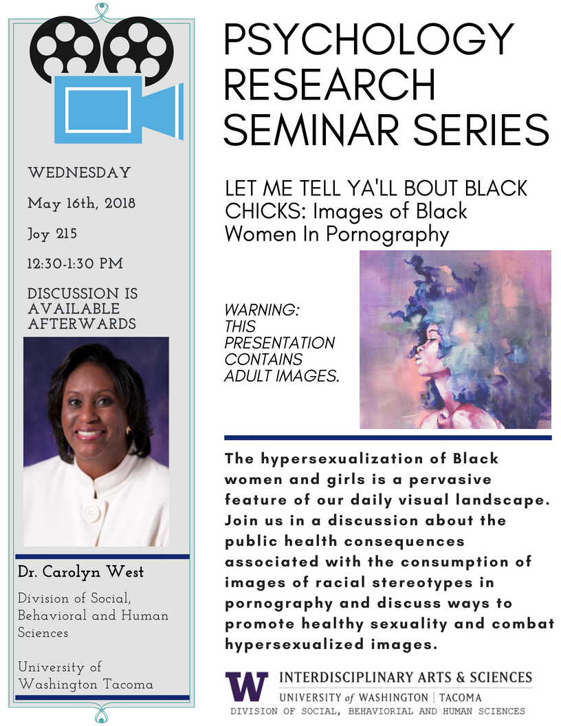 Psychology Research Seminar: LET ME TELL YA'LL BOUT BLACK CHICKS