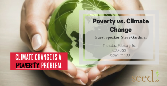 SEED Presents: Poverty Talk with Steve Gardiner