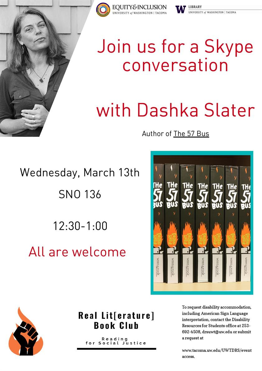 Real Lit[erature] Skype Q+A with Author of The 57 Bus, Dashka Slater