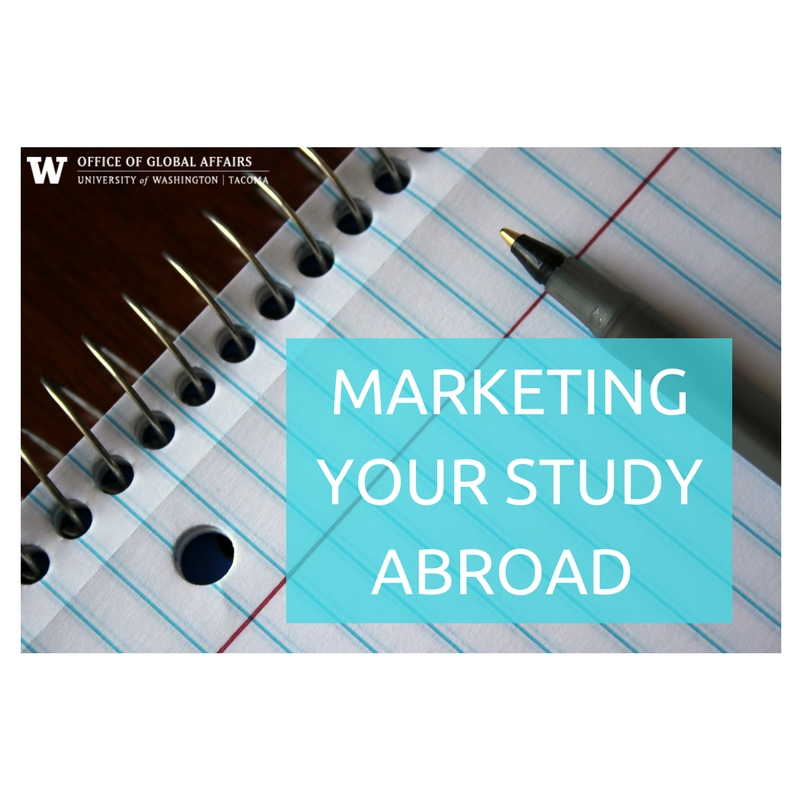 Marketing Your Study Abroad