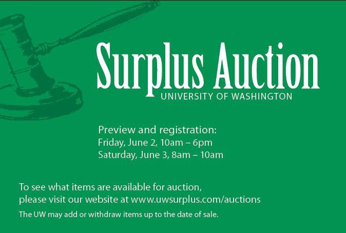 Surplus Live Auction