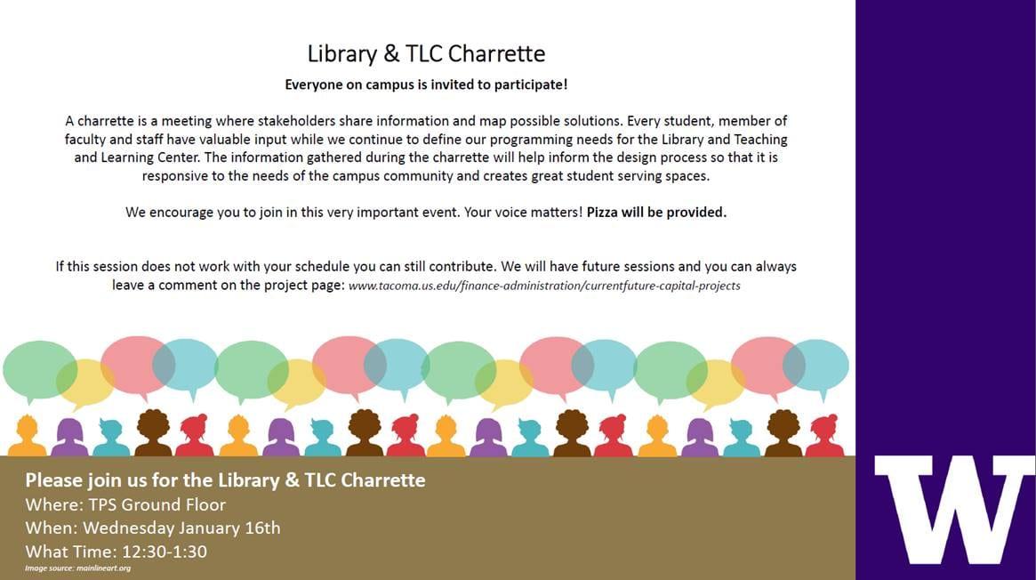 Library & TLC Charrette