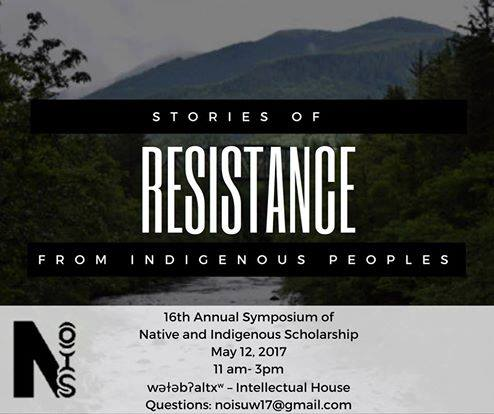 16th Annual Symposium of Native and Indigenous Scholarship at UW