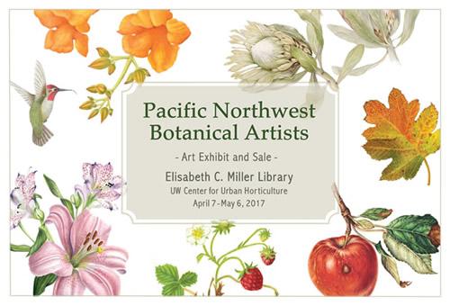 Art Exhibit: PNW Botanical Artists