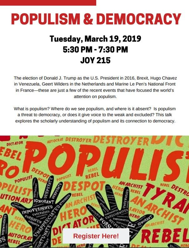 Populism and Democracy ft Professor Robert Pekkanen