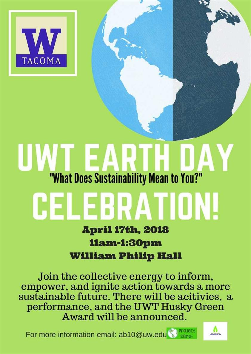 UWT Earth Day Celebration