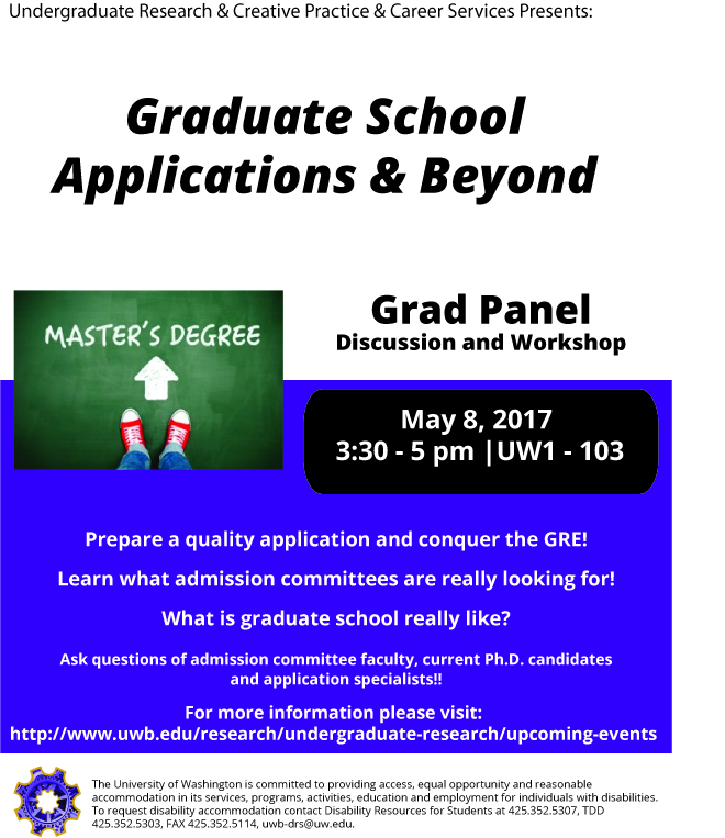 Graduate School Applications and Beyond