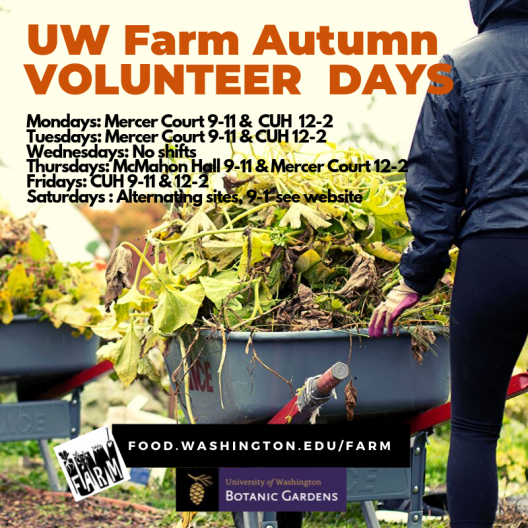 UW Farm Drop-in Volunteer Day
