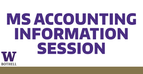 Master of Science in Accounting Information Session