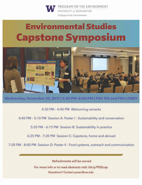 Environmental Studies Capstone Symposium
