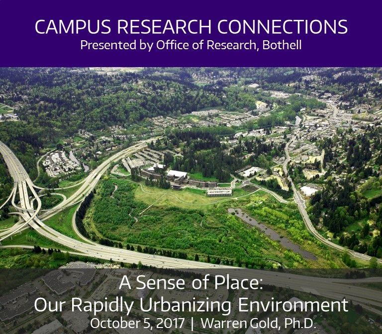 A Sense of Place: Our Rapidly Urbanizing Environment