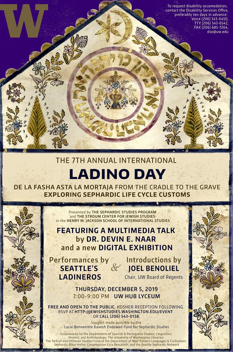 7th Annual International Ladino Day