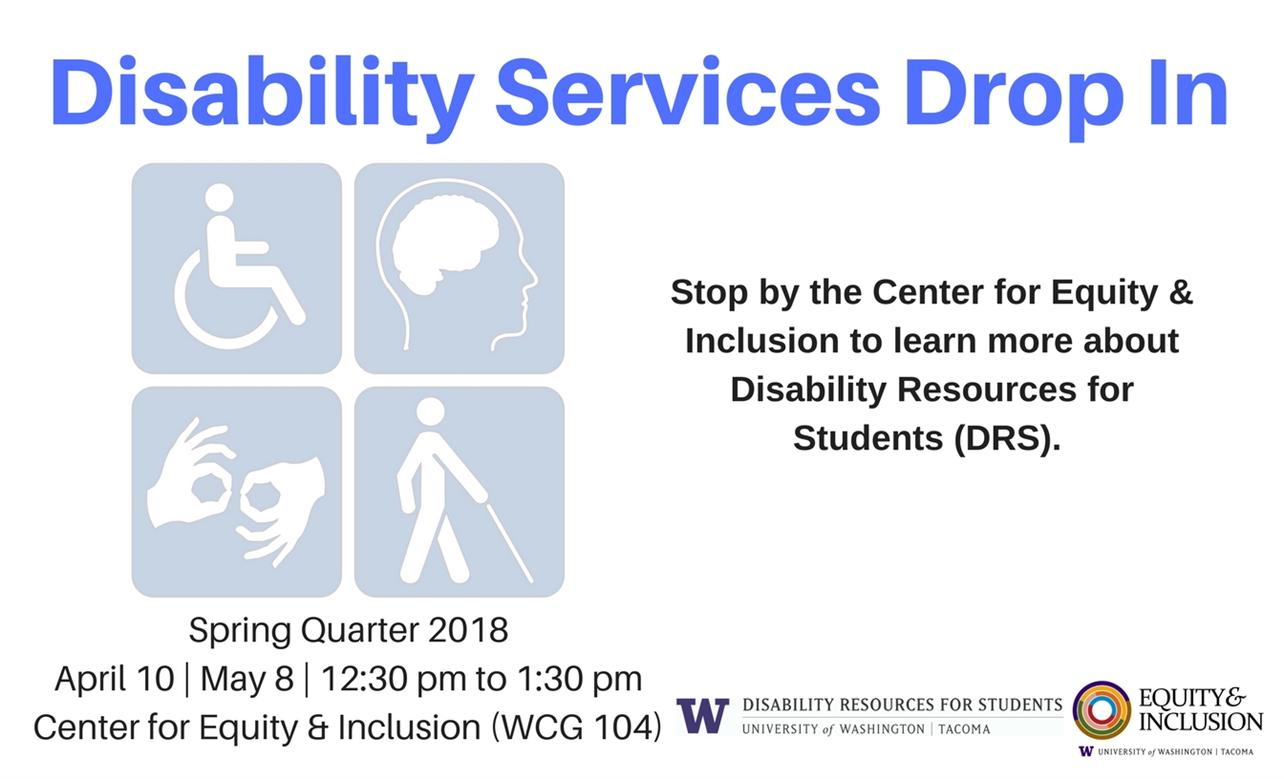 Disability Services Drop In