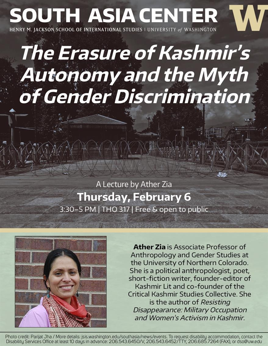 The Erasure of Kashmir's Autonomy and the Myth of Gender Discrimination - Ather Zia