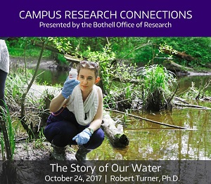 Campus Research Connections Series, Session 2 -  The Story of Our Water